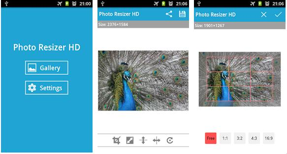 Photo Resizer HD