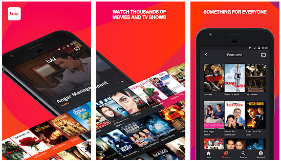 sony crackle - best apps lile YouTube