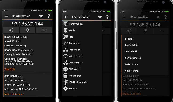 IP Tools - Best WiFi analyzer for Android