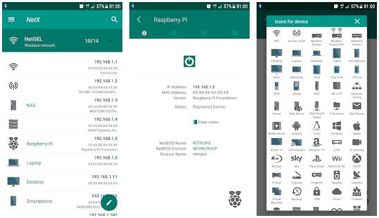 netx - best wifi analyzer for Android