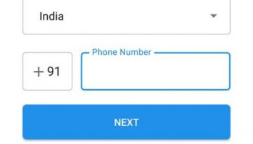 Signal phone number verification