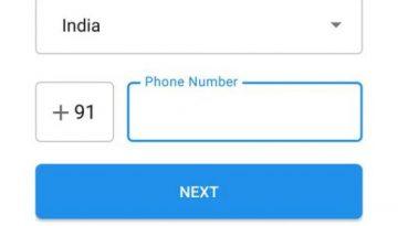 Signal phone number verification