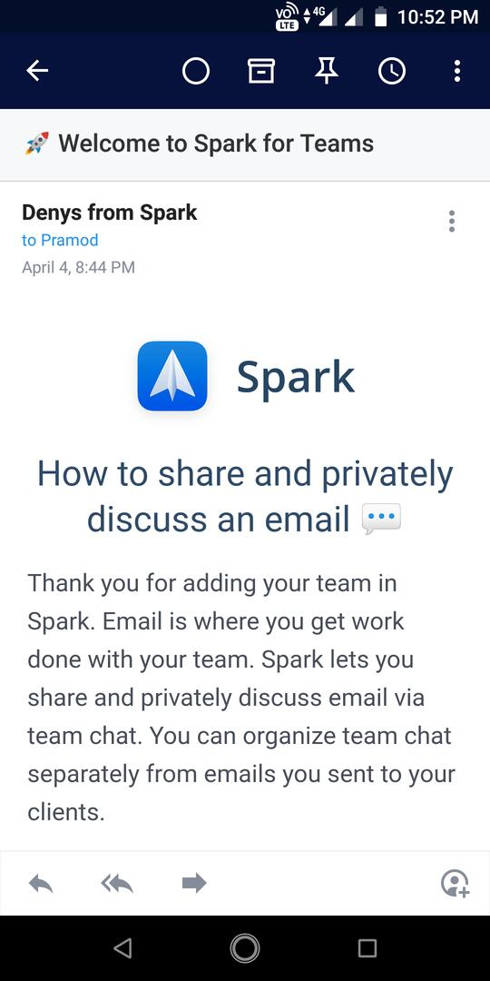 Spark Email review: A free app to manage your inbox