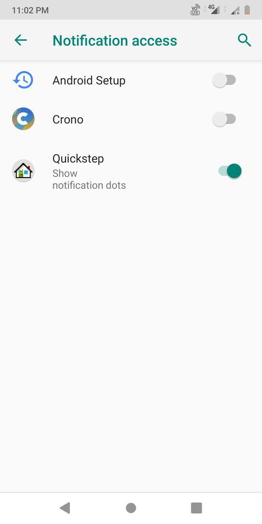 notification access permission