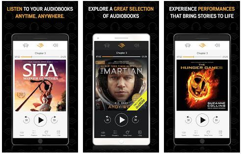 Best audiobook apps for Android and iOS