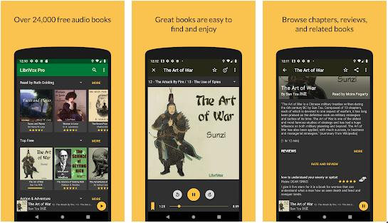 LibriVox - best audiobook apps for Android and iOS