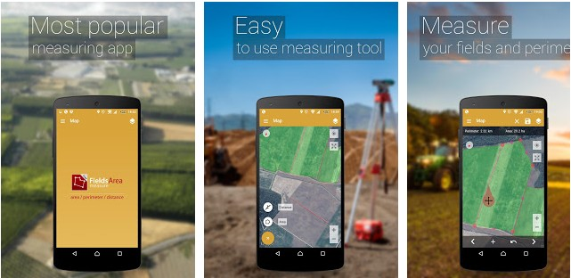GPS Fields Area Measure - Best measuring apps for Android and iOS