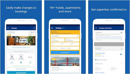 booking app like airbnb