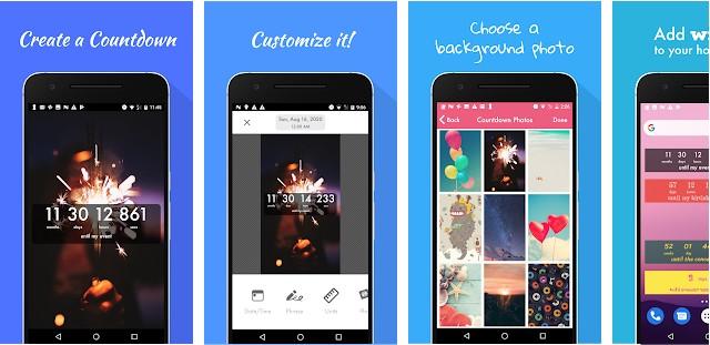 Countdown Widget app