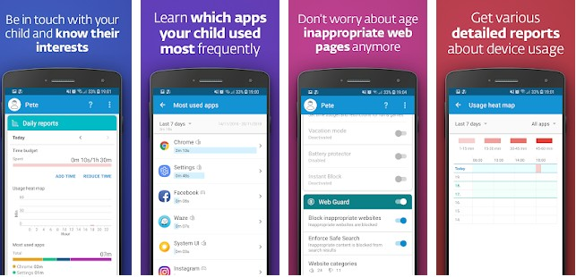 ESET Parental Control app