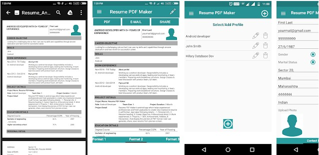 6 Best resume builder apps for Android and iOS