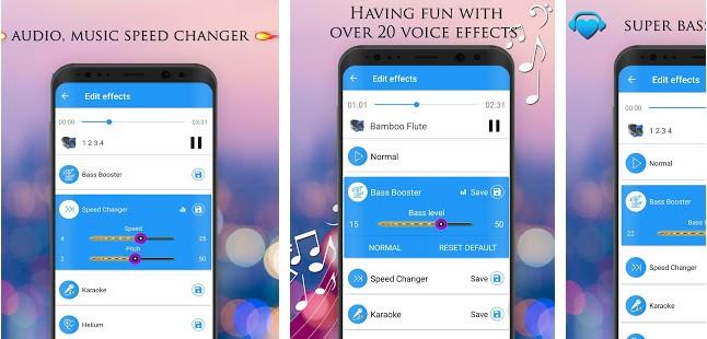 Voice Changer Audio Effects app