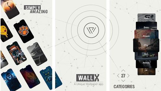 Wall X app