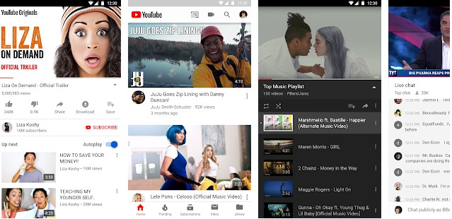 YouTube - best social networking apps