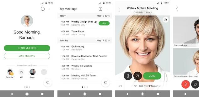 Cisco WebEx - best apps like Zoom