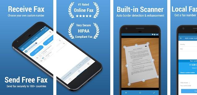 Fax Plus app