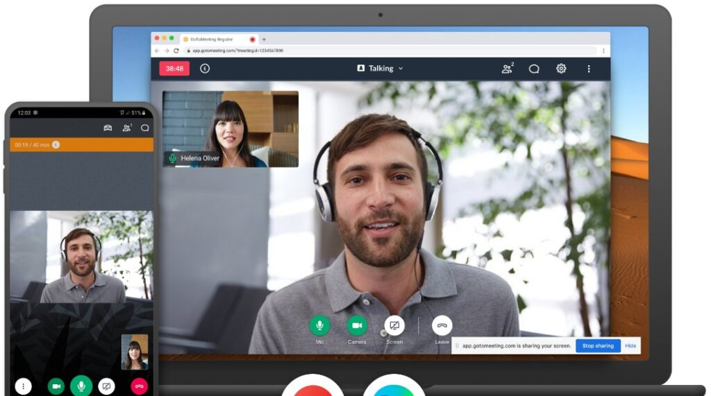 GoToMeeting -  best video conferencing apps for Android and iOS