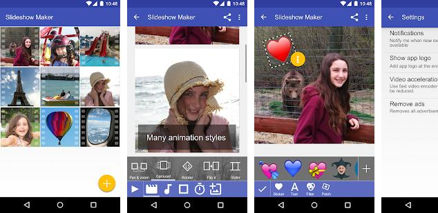 Scoompa Video - best slideshow apps for Android and iPhone