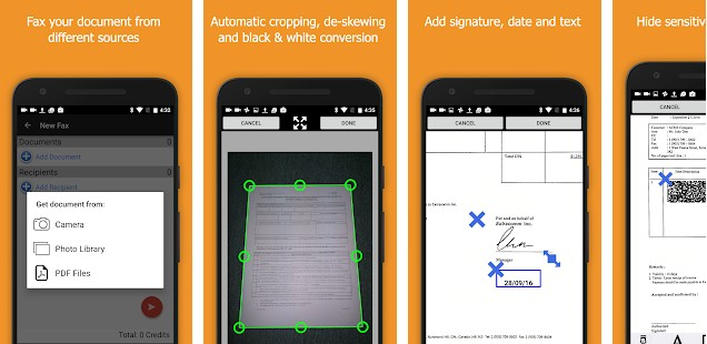 Snapfax - best fax apps for Android and IOS