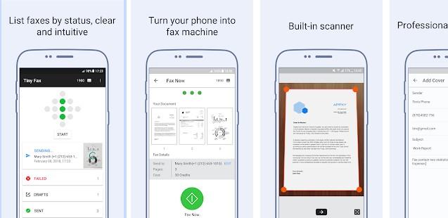 Tiny Fax app