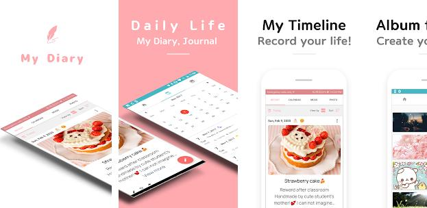 Daily Life - Best Android diary Apps