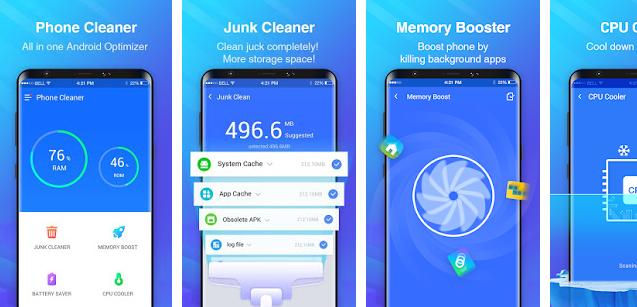Best Phone Cleaner app for Android