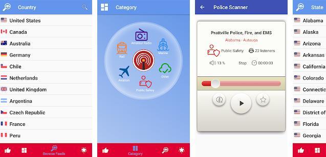 Police Scanner Live app