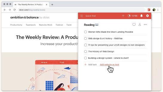 Todoist - best apps for Chromebooks