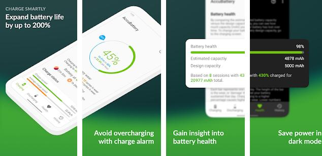 Accubattery - best battery saver app for Android