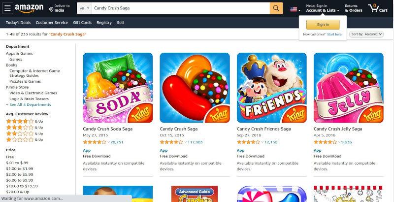 Amazon App Store - Play Store alternative