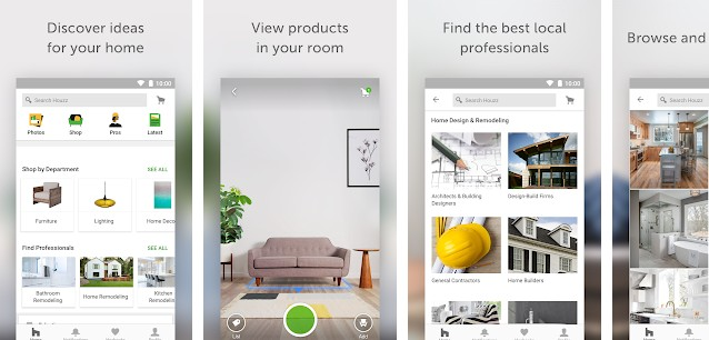 Houzz - best app like Pinterest