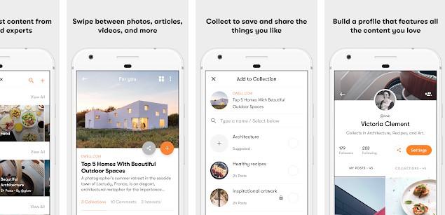 Mix - Best Pinterest alternative app