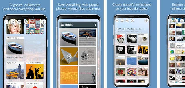 Pearltrees - best apps like Pinterest