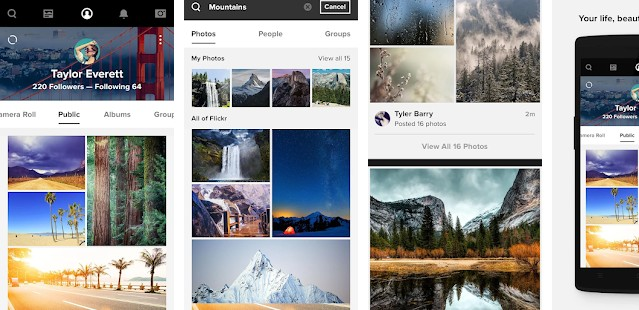flickr - apps like Instagram