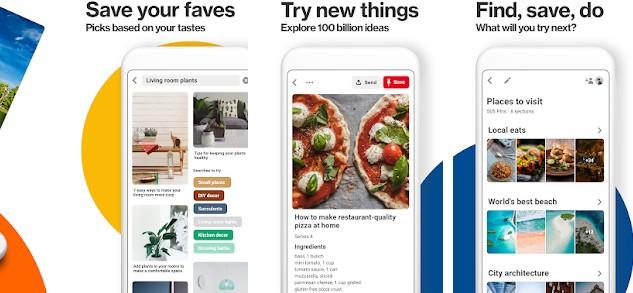 pinterest - Apps like Instagram