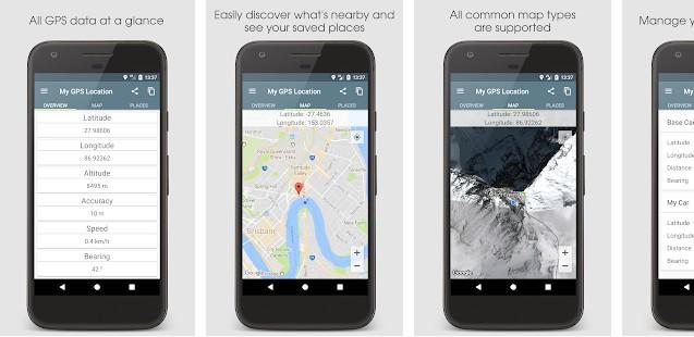 My GPS Location app