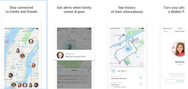iSharing - location tracking app