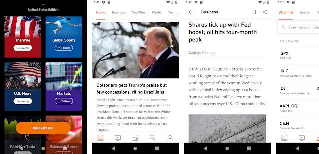 Reuters news app