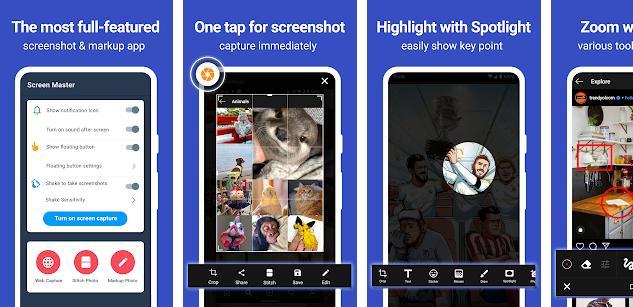 Screen Master app