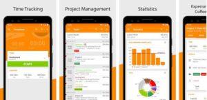 Timesheet Time Tracker app