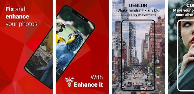 Enhance It app