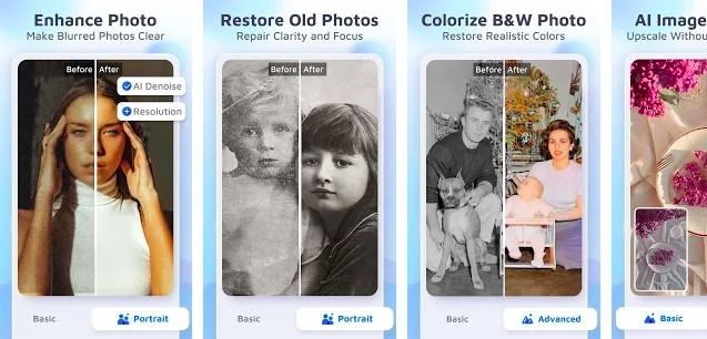 EnhanceFox - unblur photo app